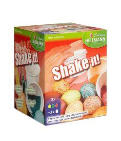 Munavärvid  Shake it 3v+värviline riis ( Lihavõtte )