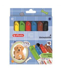 Geelkriidid 6 värvi  Pretty Pets
