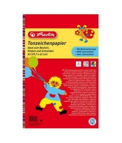 Värviline paber A3/10l 120 g Herlitz