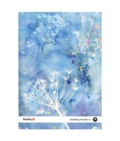 Joonistusplokk A3, 10 lehte, 210g akvarellile