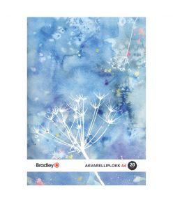 Joonistusplokk A4, 20 lehte, 210g akvarellile