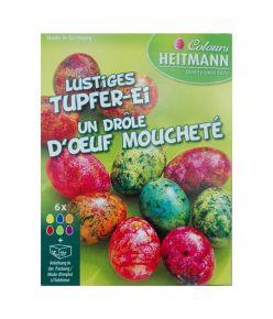 Munavärvid  tupsutatud munad 4107  ( Lihavõtte)