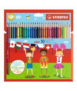 Värvipliiats 30 värvi  Stabilo  Color kuusn.
