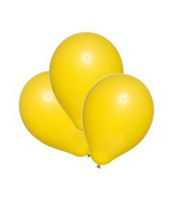 Pp.õhupall 100tk kollane