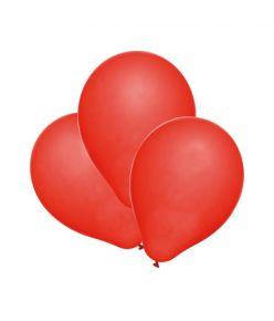 Pp.õhupall 100tk punane