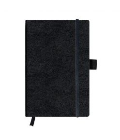 Märkmeraamat A5/96l my.book black ruudul.