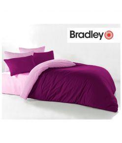 Tekikott 150x210 Bradley bordoo / roosa
