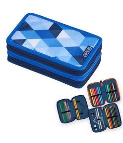Täidetud pinal 3 lukuga, 31 osa Blue Cubes