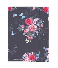 Kummiga kaaned A4 pl. Ladylike Flowers