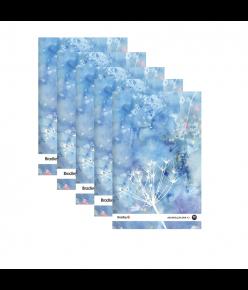 Joonistusplokk A3, 10 lehte, 210g akvarellile, 5 tükki pakis