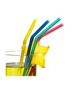 Joogikõrs 50tk/21cm Flex uni