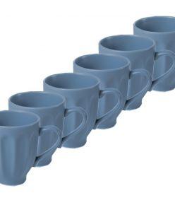 Keraamilised kruusid LOHUKE 10cm sinine 24 tk