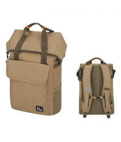 Herlitz koolikott-seljakott be.bag be.flexible, 25-30 l / Desert