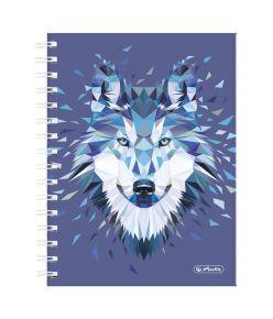 Spiraalmärkmik Wild Animals / Hunt - A5/100, ruuduline