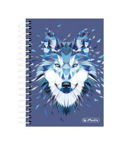 Spiraalmärkmik Wild Animals / Hunt - A6/200, ruuduline