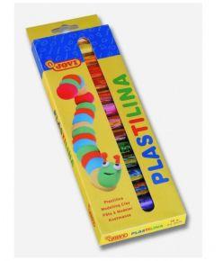 Plastiliin 15 värvi Jovi ümar krt.pakend