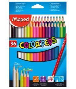 Värvipliiats Maped ColorPeps  36tk