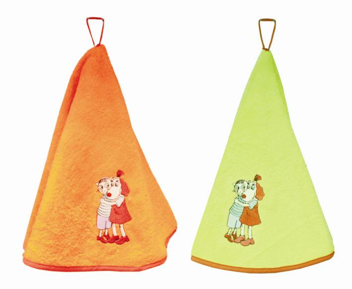 Froteerätik ümar Lotte oranz, heleroheline asso..