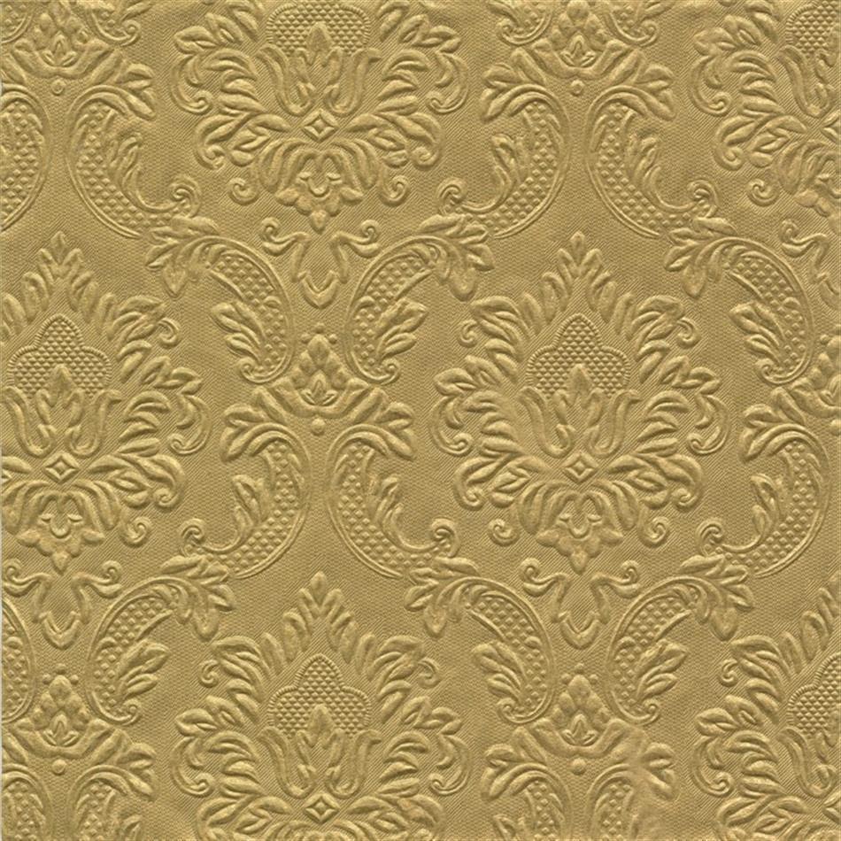 Salvrätik 33x33/20 Edition relj.kuld
