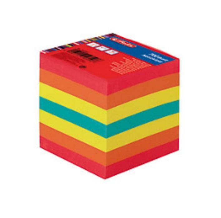 Märkmekuup 9x9x9cm värviline 700 lehte