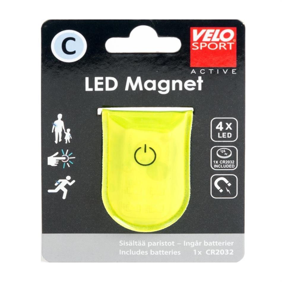Helkur C led magnetiga kollane