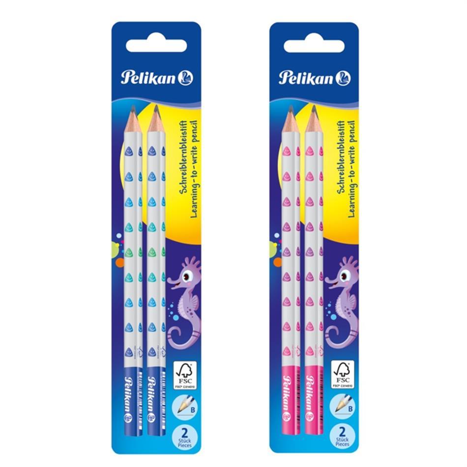 Harilik pliiats 2 tk Pelikan B (bl) jäme sinine ..