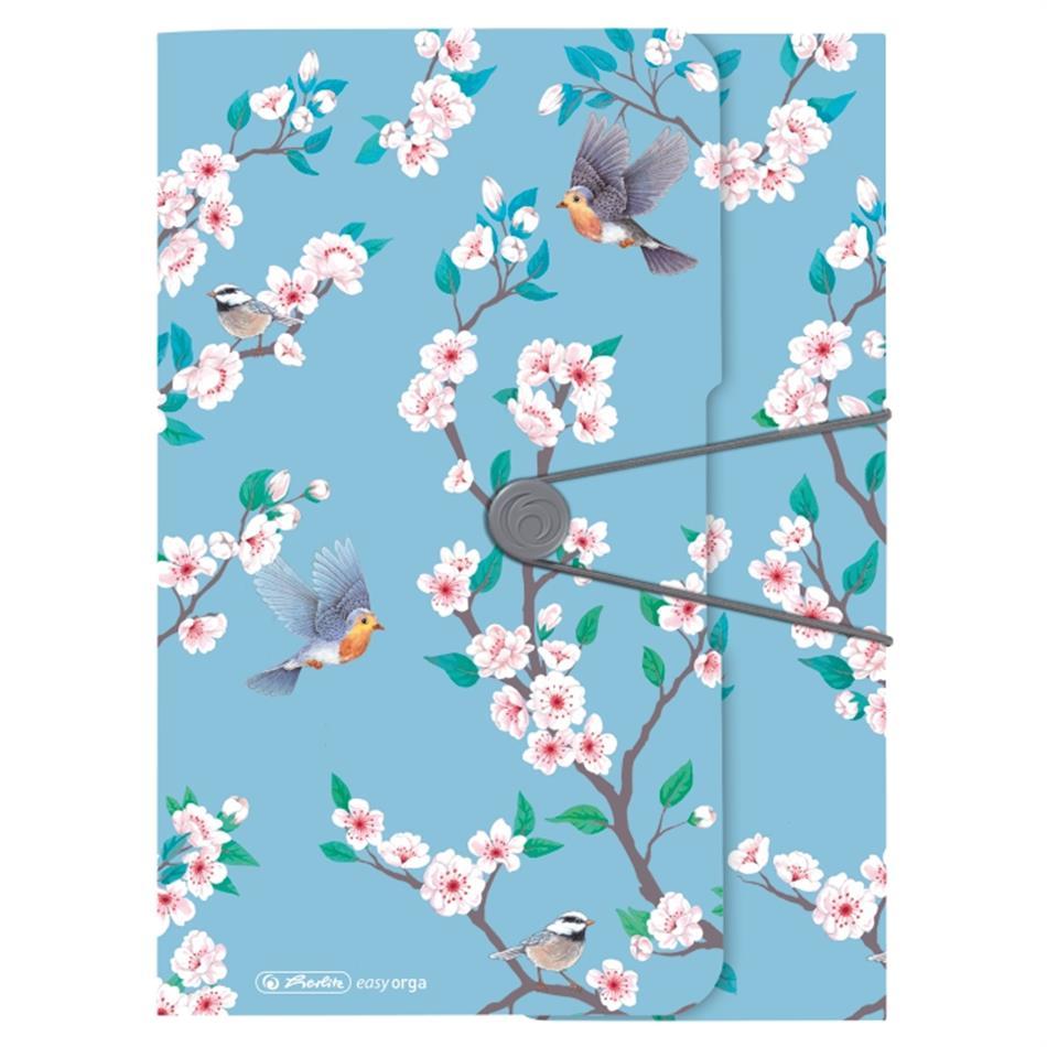 Kummiga kaaned A4 pl. Ladylike Birds