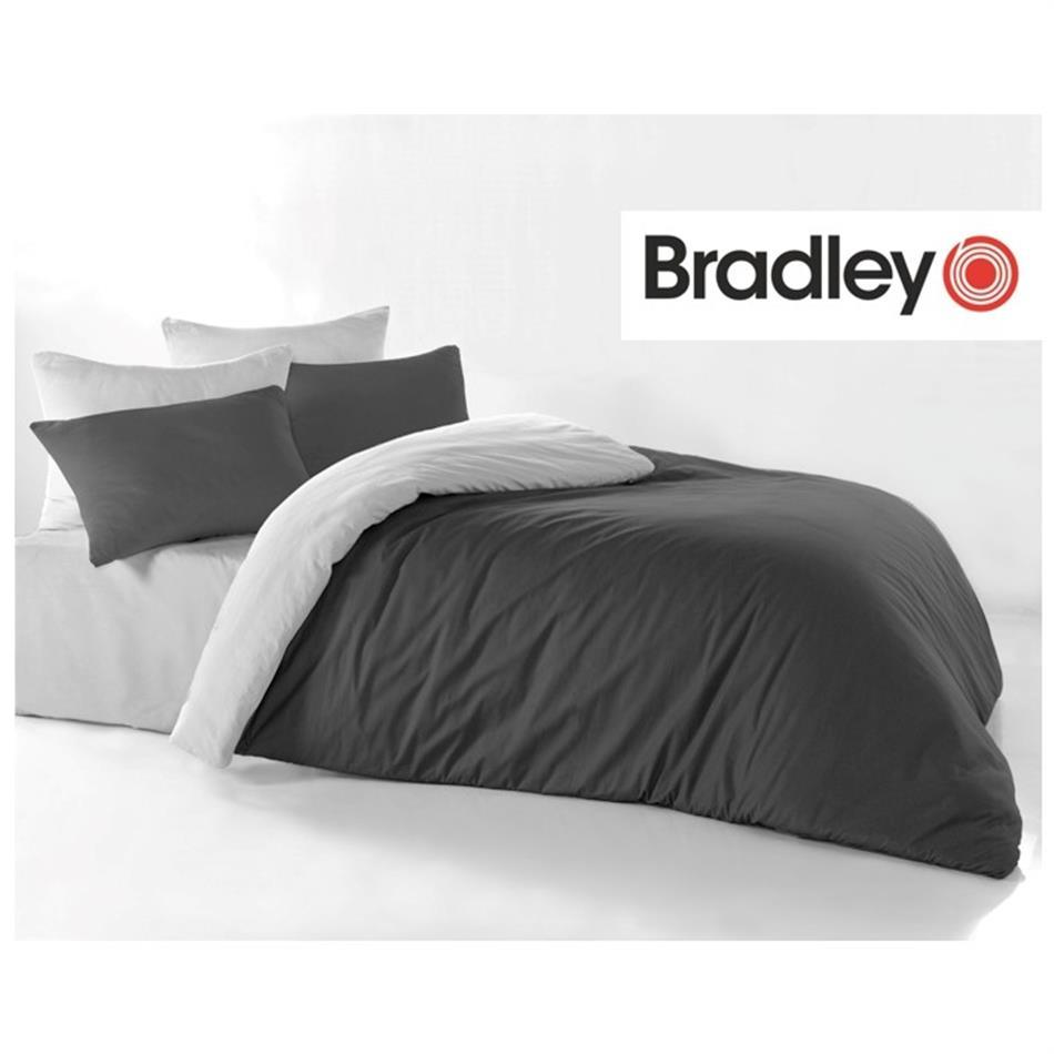 Tekikott - 150 x 210 cm, Bradley antratsiit / hel..