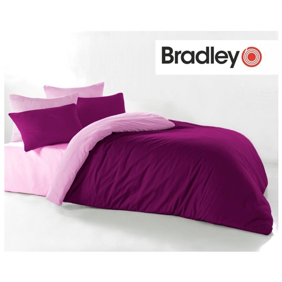 Tekikott - 150 x 210 cm, Bradley bordoo / roosa