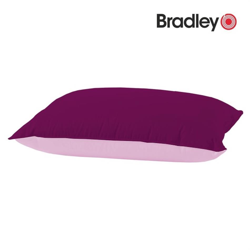 Padjapüür - 50 x 70 cm, Bradley bordoo / roosa