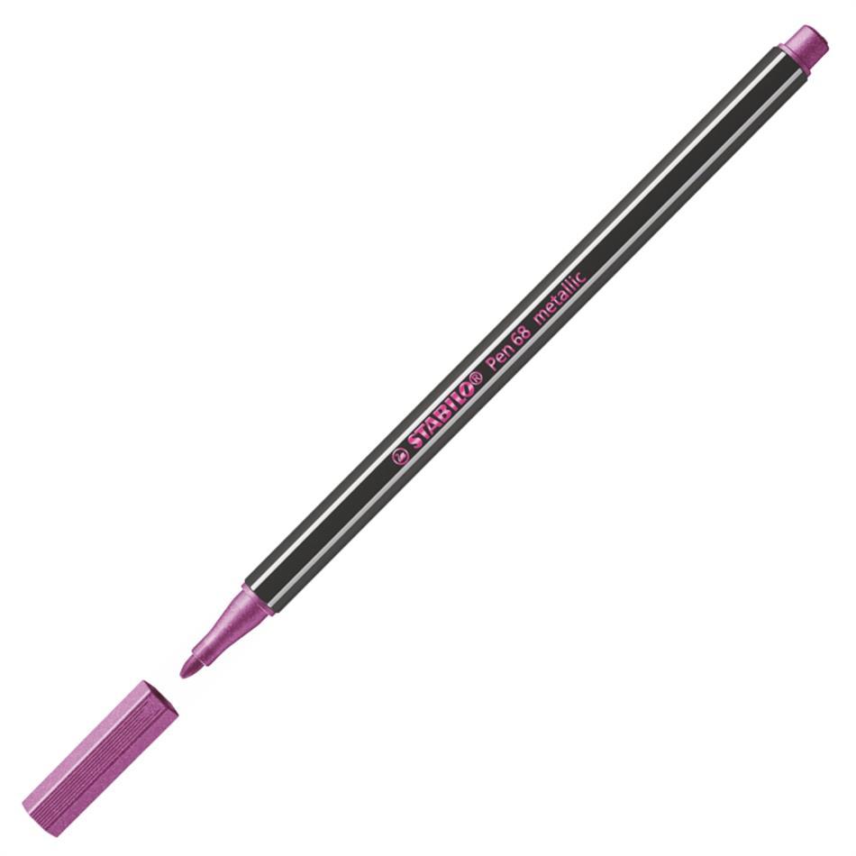 Tindipliiats Stabilo Pen 68-856, roosa metallik