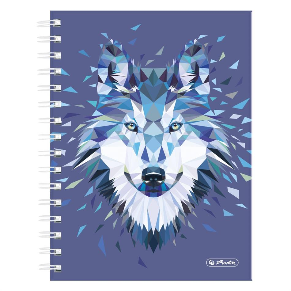 Spiraaliga märkmik A5/100 Wild Animals / Hunt,  ..