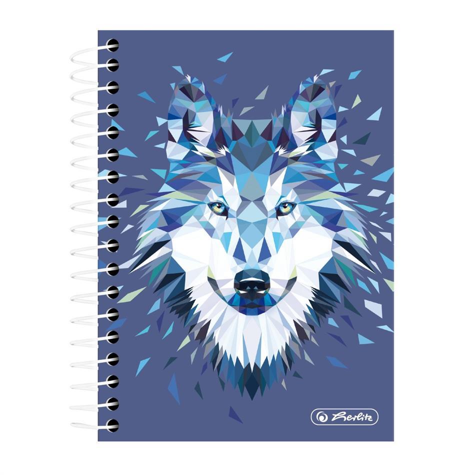 Spiraaliga märkmik A6/200 Wild Animals / Hunt , ..
