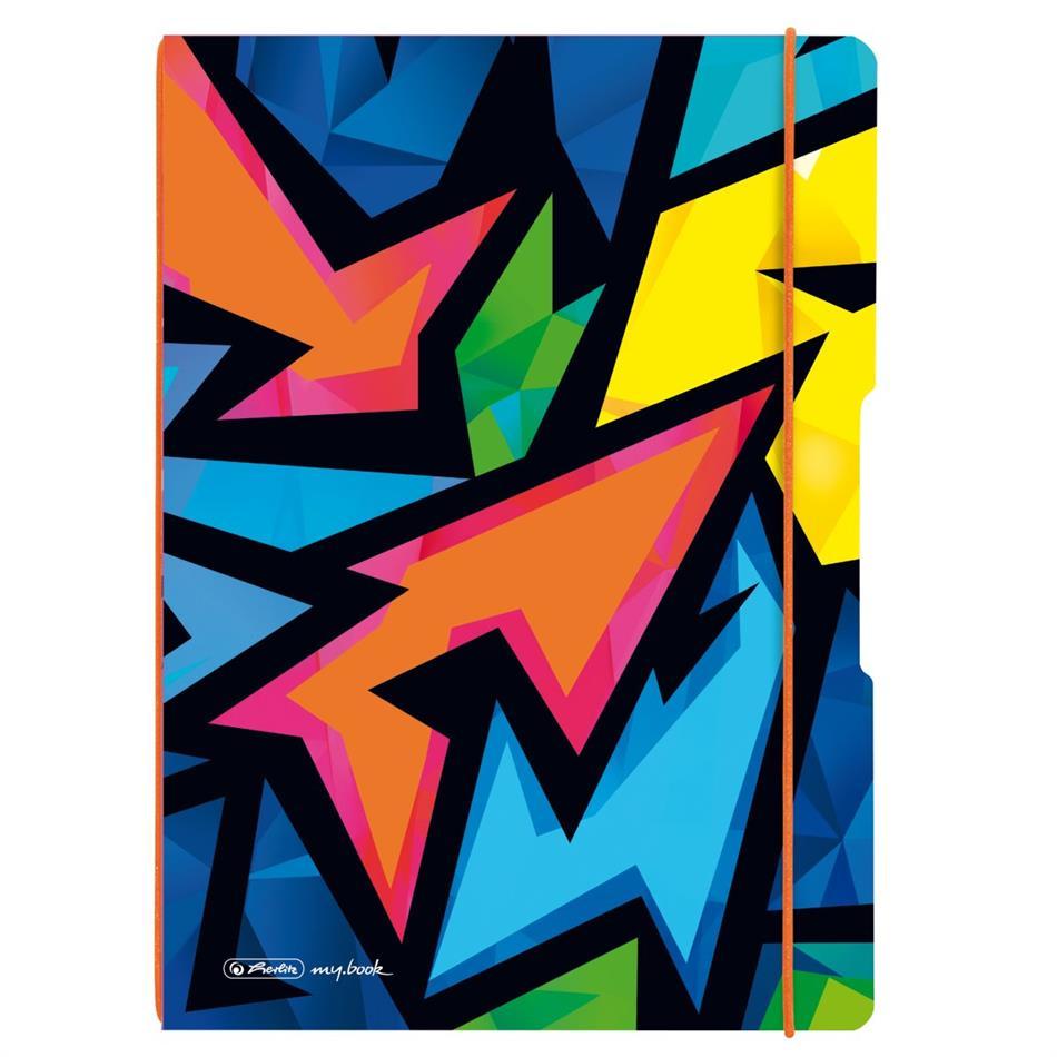 Kaustik Herlitz Flex Neon Art - A4, 40 + 40 lehte..