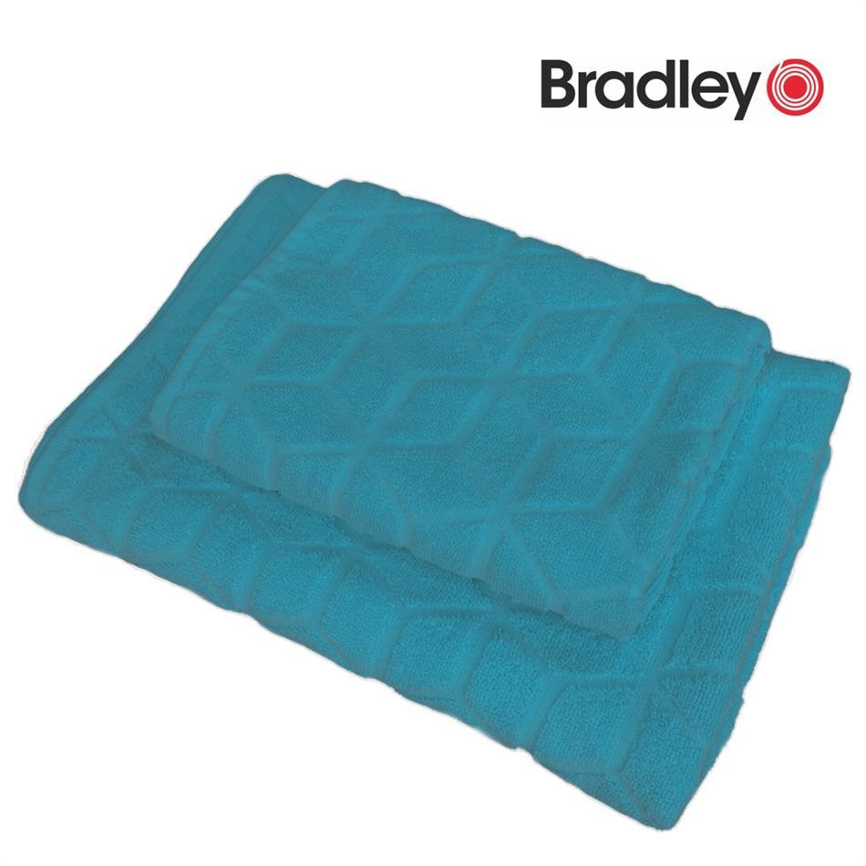 Froteerätik 50 x 70 cm - rombidega, sinine
